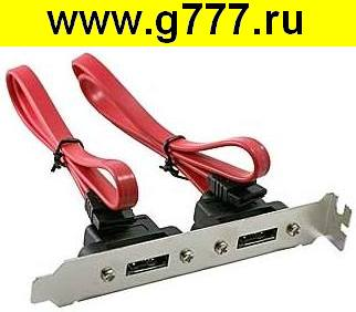Компьютерный шнур Шнур компьютерный Dual port SATA 7 pin