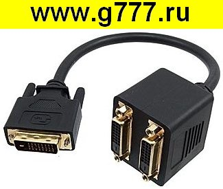 Разъём DVI Разъём DVI to DVIx2 ML-A-025
