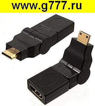 Разъём HDMI Разъём HDMI F to MiniHDMI M (rotation)