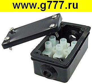 Корпус BOX-2 IP44 2pin CA10 6A/450V