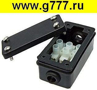 Корпус BOX-2 IP44 2pin CA8 6A/450V