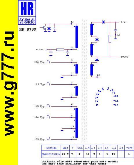ТДКС HR8739 (1392.9011