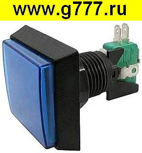 кнопка gmsi GMSI-2B-S no(nc)+nc(no) blue 50mm