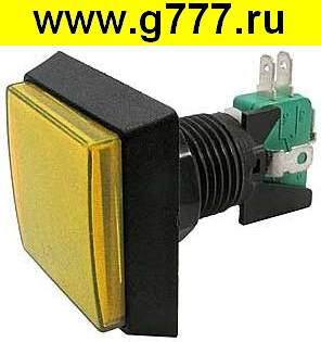 кнопка gmsi GMSI-2B-S no(nc)+nc(no) yellow 50mm