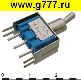 Тумблер Микротумблер MTS-102-A2T on-on